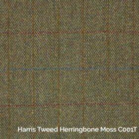 Harris Tweed Herringbone Moss C001T