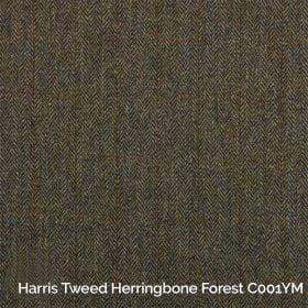 Harris Tweed Herringbone Forest C001YM