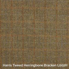 Harris Tweed Herringbone Bracken L002H