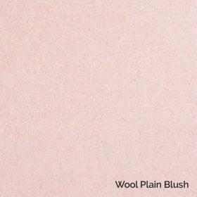 Wool Plain Blush