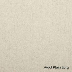 Wool Plain Ecru