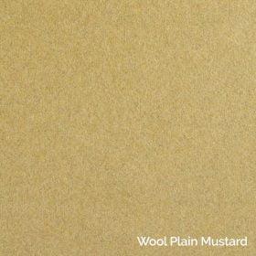 Wool Plain Mustard