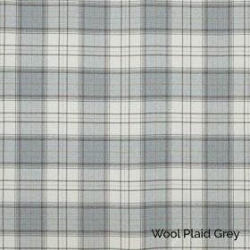 Wool Plaid Grey