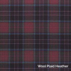 Wool Plaid Heather