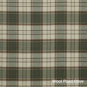 Wool Plaid Olive