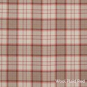 Wool Plaid Red