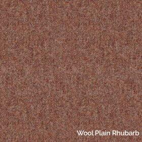 Wool Plain Rhubarb