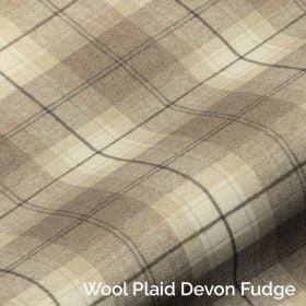 Wool Plaid Devon Fudge