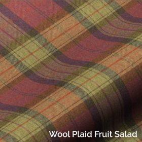 Wool Plaid Fruit Salad