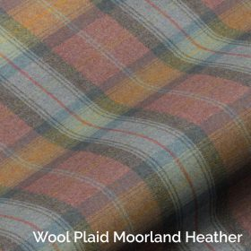Wool Plaid Moorland Heather
